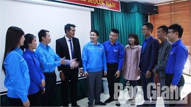 15 đại biểu Bắc Giang tham dự Đại hội Đại biểu Hội LHTN Việt Nam