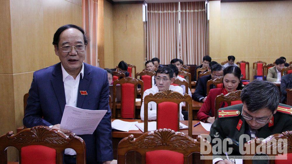 HĐND tỉnh, kỳ họp thứ 9, đồng chí Bùi Văn Hải, thảo luận