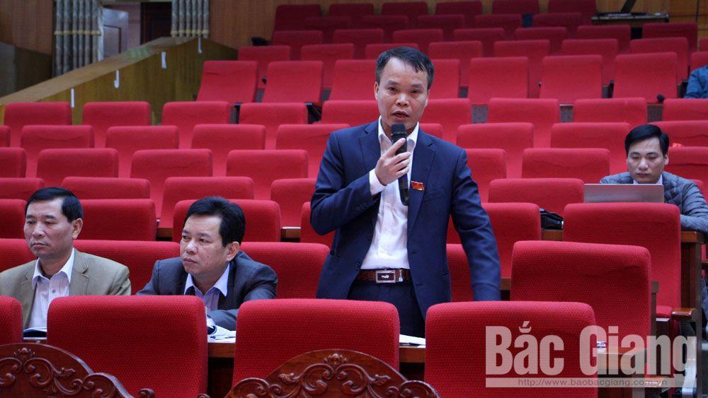 kỳ họp thứ 9, HĐND tỉnh, thảo luận, đồng chí Bùi Văn Hải