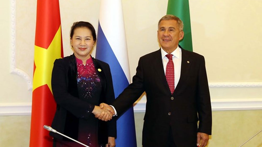 Top legislator meets President of Russia's Tatarstan