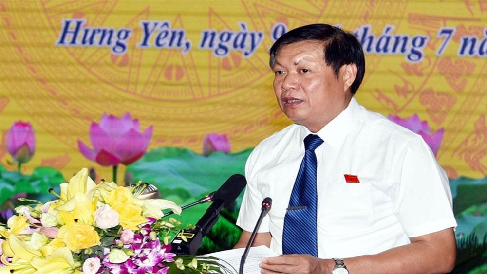 Thủ tướng, bổ nhiệm, Chủ tịch HĐND Hưng Yên, Thứ trưởng Bộ Y tế