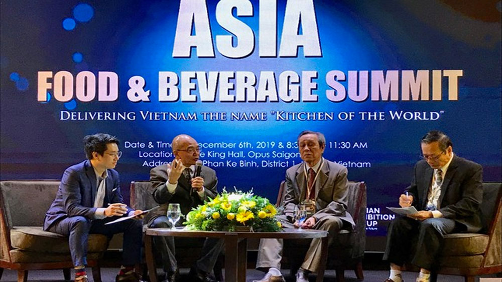 Asia Food and Beverage Summit, Vietnamese cuisine, ASEAN chairmanship, Vietnam Cuisine Culture Association, Restaurant Association of Vietnam, high development potential