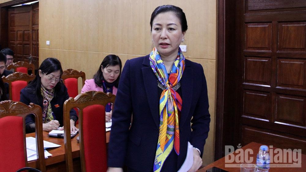 Ngày làm việc thứ hai kỳ họp thứ 9, HĐND tỉnh Bắc Giang khóa XVIII: Thảo luận sâu về an ninh trật tự nông thôn và đào tạo nghề