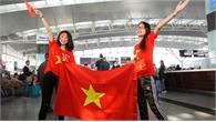 CĐV hát vang khi sang Philippines cổ vũ U22 Việt Nam