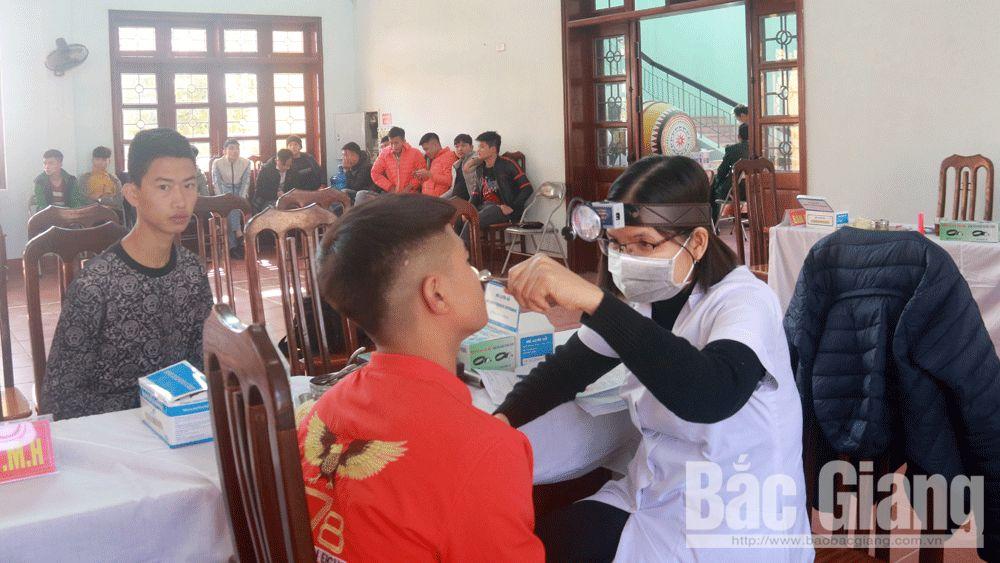 Việt yên, khám tuyển, nghĩa vụ quân sự