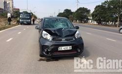 Việt Yên: Va chạm với ô tô, người đi xe máy tử vong