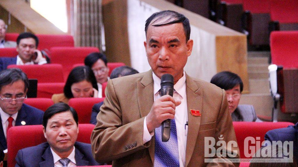 HĐND tỉnh, kỳ họp thứ 9, chất vấn, trả lời chất vấn, đồng chí Bùi Văn Hải