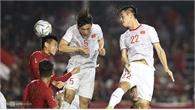 Chung kết bóng đá nam SEA Games 30 U22 Việt Nam-U22 Indonesia  (hiệp 1): Đoàn Văn Hậu đánh đầu ghi bàn mở tỷ số cho Việt Nam