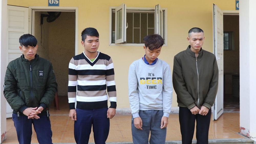 Triệt phá, ổ nhóm trộm cắp, 23 xe máy liên tỉnh, Nguyễn Tiến Dũng