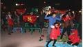 Đông đảo người hâm mộ Bắc Giang dõi theo trận đấu và chúc mừng chiến thắng của đội tuyển U22 Việt Nam
