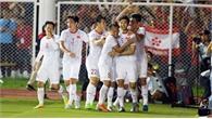 Clip: Văn Hậu lập cú đúp giúp U22 Việt Nam chiến thắng 3-0 trước U22 Indonesia