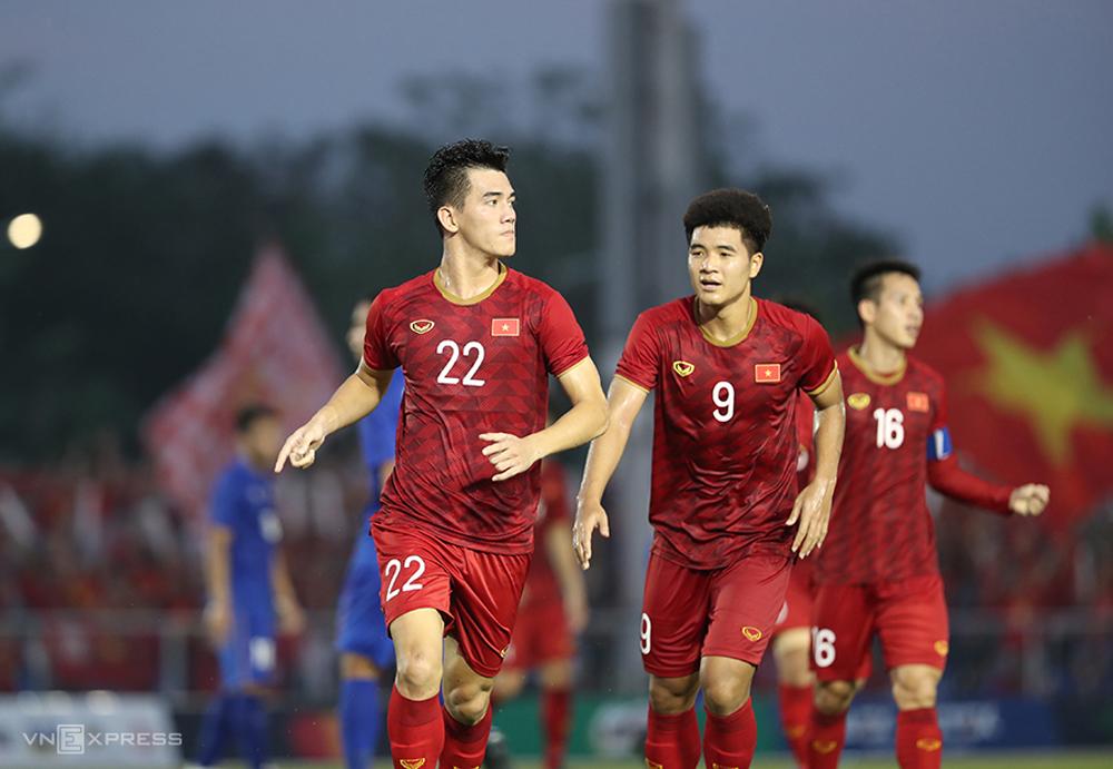 SEA Games 2019, U22 Việt Nam, Park Hang-seo, Nguyễn Tiến Linh, Hà Đức Chinh