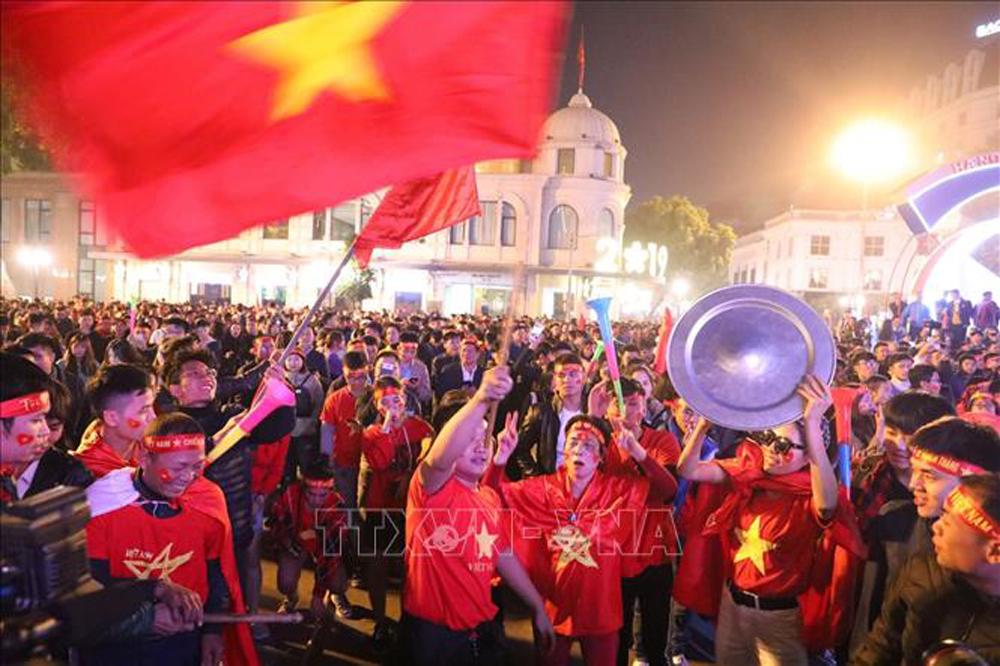 Sea Games 30, U22 Việt Nam, U22 Indonesia, cổ động viên Việt Nam, Việt Nam vô địch bóng đá, chinh phục HCV Sea Games 30
