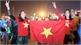 Hàng vạn người hâm mộ Bắc Giang dõi theo trận đấu và chúc mừng chiến thắng của đội tuyển U22 Việt Nam