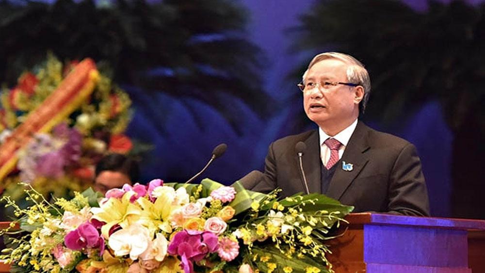 Khai mạc trọng thể, Ðại hội đại biểu toàn quốc Hội LHTN Việt Nam lần thứ VIII,