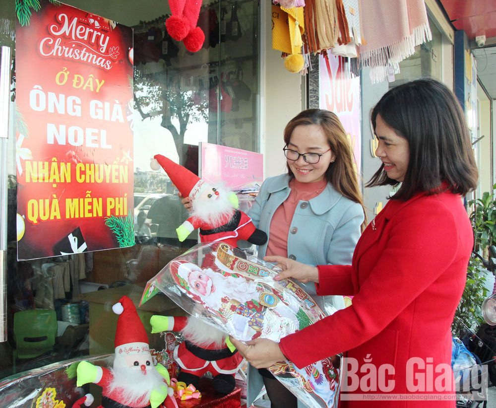 Eagerly waiting for Christmas, Noel, Bac Giang province,  vibrant activities, important holiday, meaningful gifts