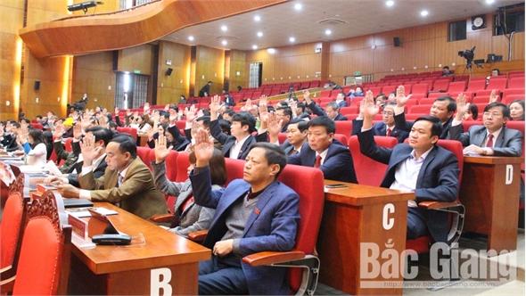 Bế mạc kỳ họp thứ 9, HĐND tỉnh Bắc Giang khóa XVIII: Thông qua 25 nghị quyết