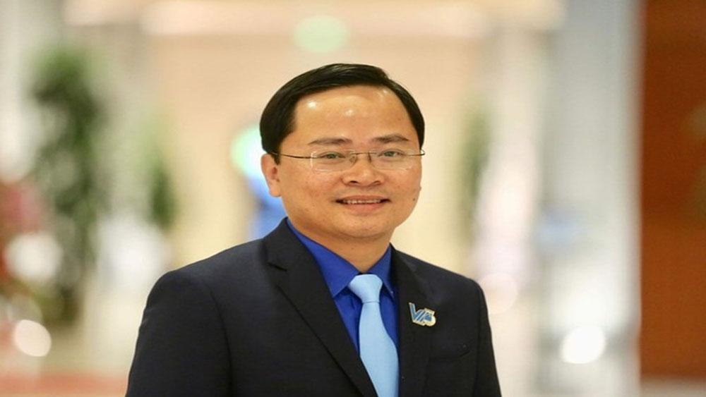 Hội Liên hiệp Thanh niên Việt Nam khóa VIII, tân chủ tịch, đồng chí Nguyễn Anh Tuấn