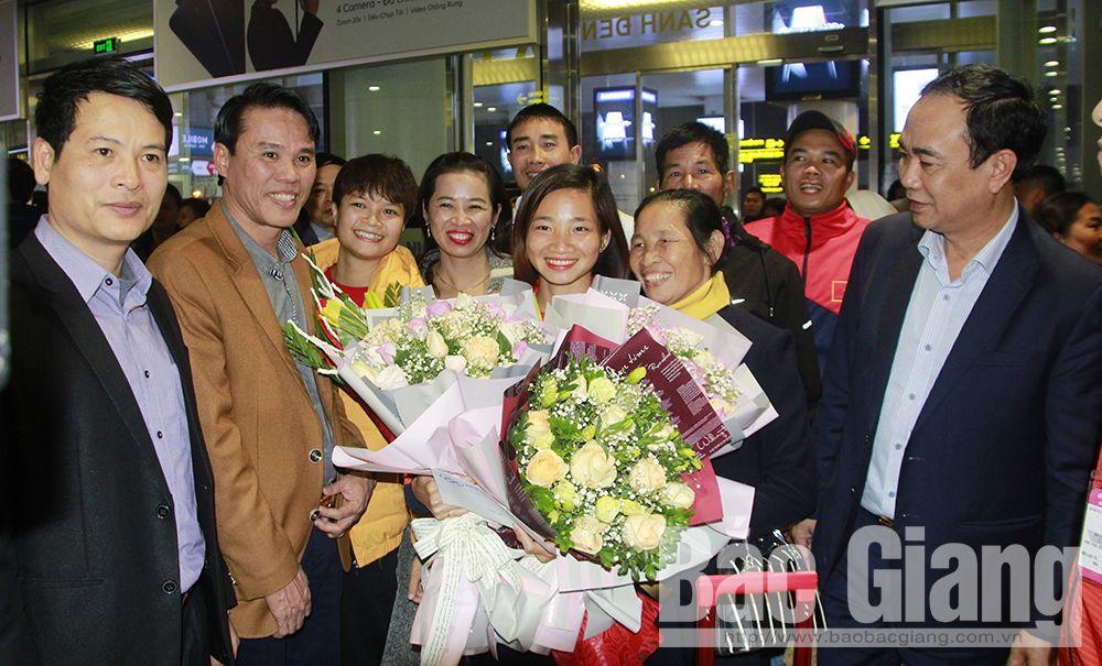 Bắc Giang, Nguyễn Thị Oanh, huy chương vàng SEA Games 30, thể thao, báo bắc giang, báo bắc giang mới nhất