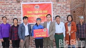 Lục Nam: Hội Nông dân hỗ trợ hội viên khó khăn cải tạo nhà ở