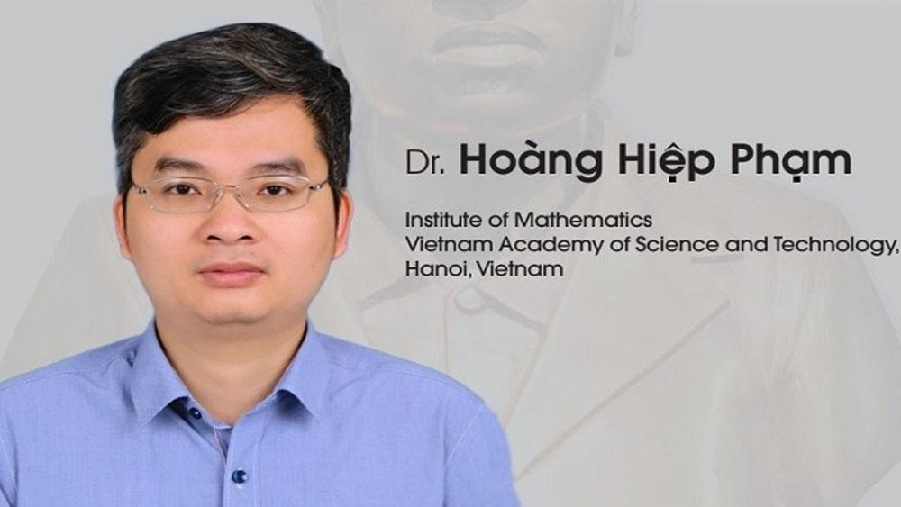 Giáo sư trẻ nhất Việt Nam, giành giải thưởng toán học uy tín quốc tế, GS Phạm Hoàng Hiệp