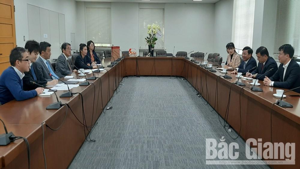Bắc Giang, Dương Văn Thái chúc mừng Đại sứ quán Nhật Bản tại Việt Nam, năm mới 2020