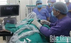 Bệnh viện Ung bướu Bắc Giang điều trị khối u bằng vi sóng