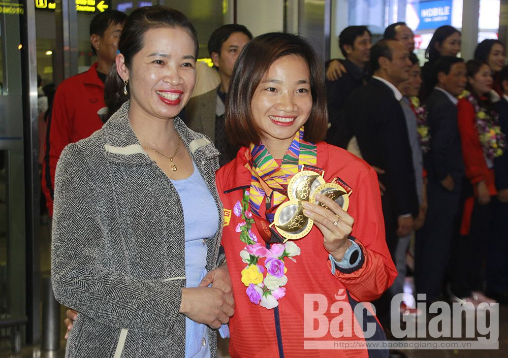 Bac Giang province, athlete Nguyen Thi Oanh, 30th Southeast Asian Games, track and field athlete, excellent achievements, regional sports event