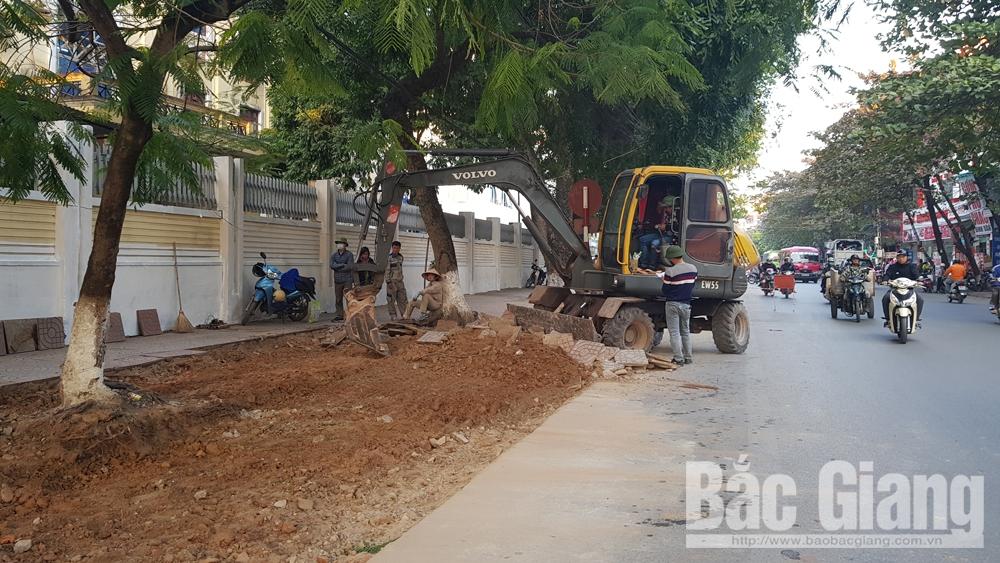 Bệnh viện Đa khoa tỉnh Bắc Giang, điểm giữ xe