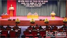 Kỳ họp thứ 11, HĐND TP Bắc Giang: Thảo luận các giải pháp quản lý trật tự đô thị, vệ sinh môi trường