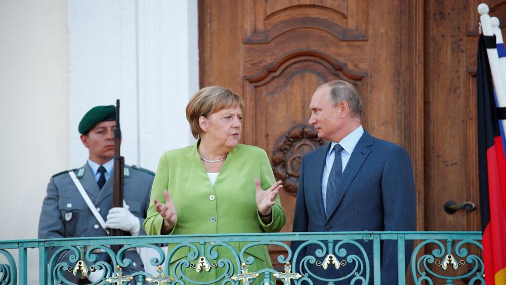 Căng thẳng ngoại giao, gia tăng , Nga và Đức