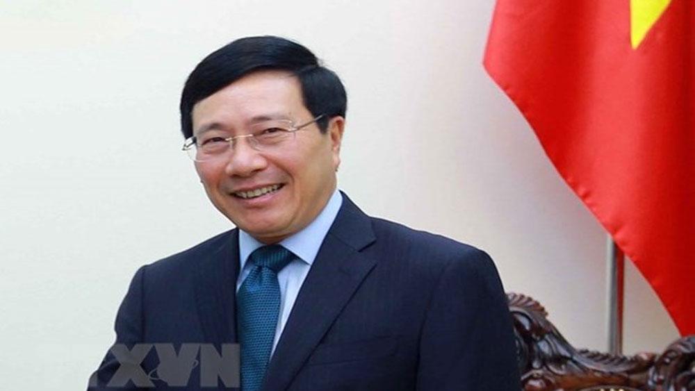 Deputy PM-FM, Pham Binh Minh, 14th ASEM Foreign Ministers' Meeting, international integration, international trade value