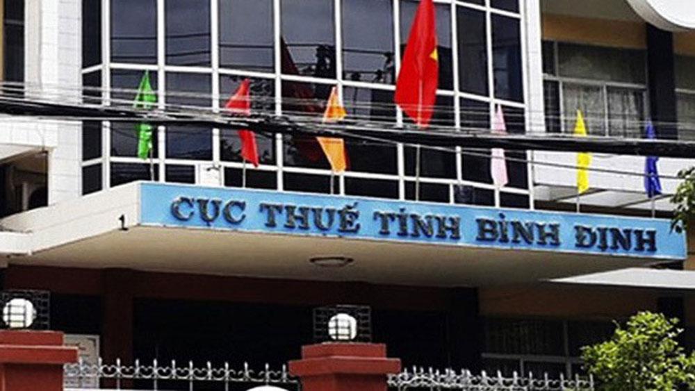 Cảnh cáo, nguyên Cục trưởng Cục Thuế tỉnh Bình Định, đồng chí Nguyễn Công Thành,