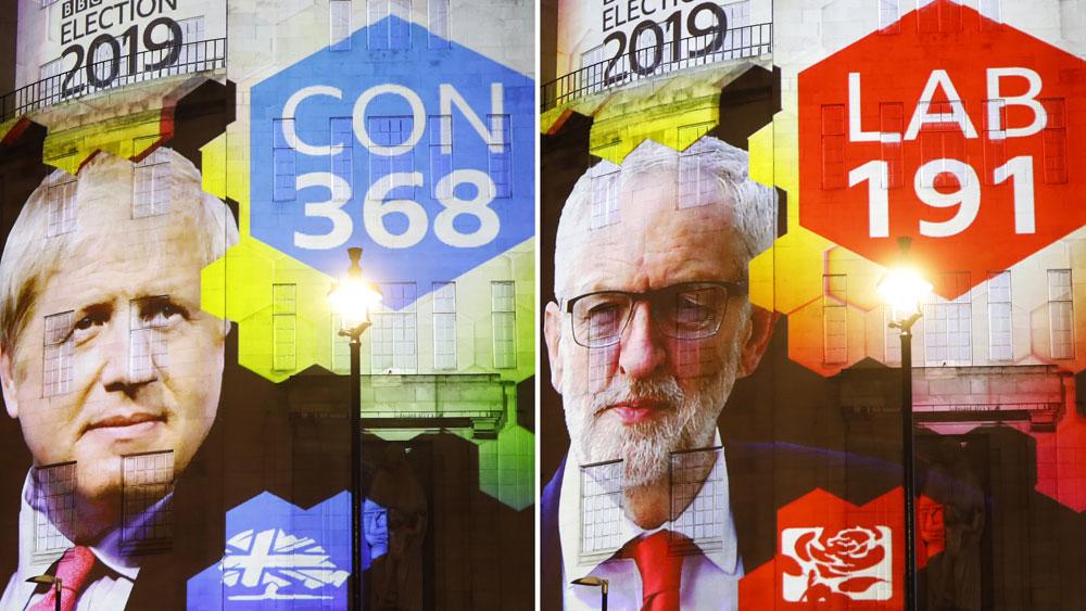 Bầu cử Anh, Đảng Bảo thủ của Thủ tướng B.Johnson, giành chiến thắng
