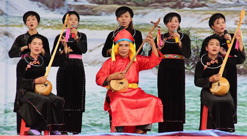Then singing, intangible cultural heritages of humanity, UNESCO, necessary measures, cultural characteristics