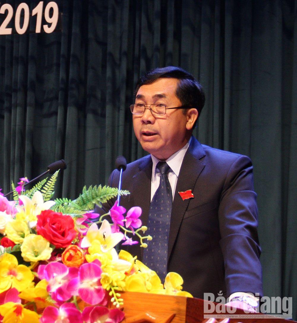 Bế mạc kỳ họp thứ 11, HĐND TP Bắc Giang, Mai Sơn, Vũ Trí Hải, HĐND, bắc giang