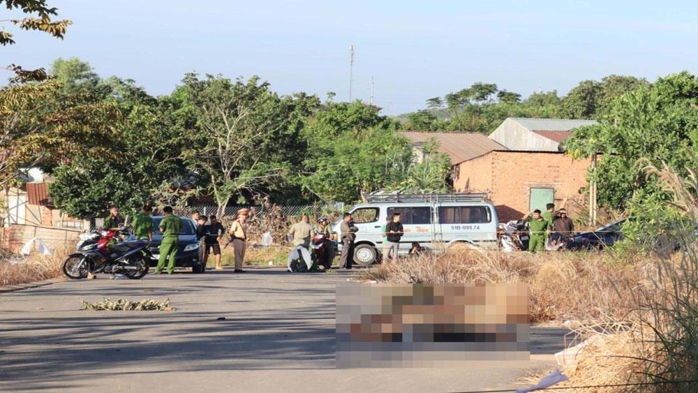 Bình Phước, Điều tra, vụ người đàn ông bị thiêu cháy, tử vong giữa đường, Nguyễn Chí Tâm