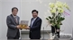 Provincial Chairman Duong Van  Thai extends Tet greeting to Embassy of Japan in Vietnam
