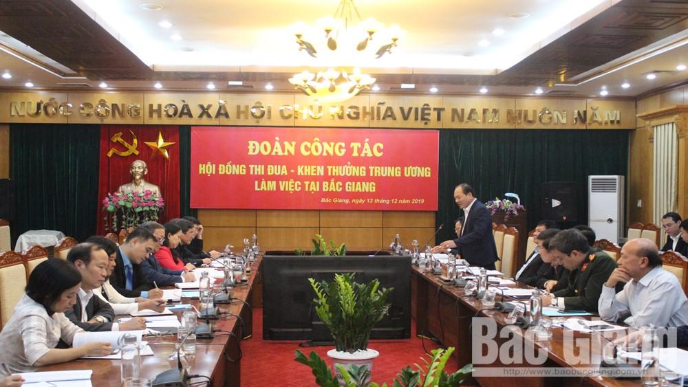 Hội đồng thi đua khen thưởng, TĐKT, Bắc Giang, năm 2018, 2019
