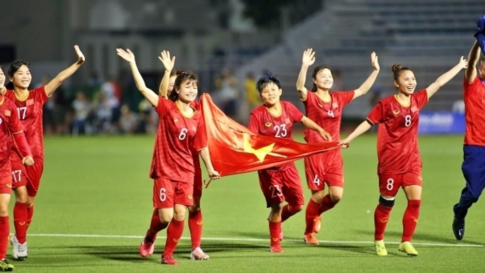 Vietnamese women's team close world's Top 30 after SEA Games triumph