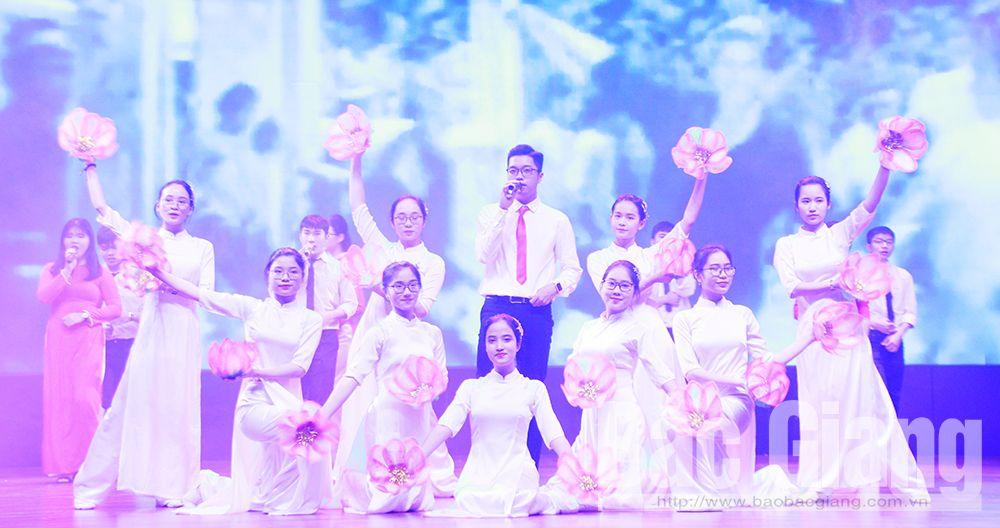 Bắc Giang, báo cáo kết quả đại hội Hội LHTN Việt Nam, TP Bắc Giang, liên hoan các câu lạc bộ, tổ đội nhóm