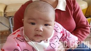 Một bé gái 4 tháng tuổi bị bỏ rơi tại xã Tiên Lục (Lạng Giang)