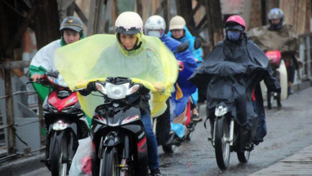 Giữa tuần tới, miền Bắc, không khí lạnh tăng cường, Bắc Bộ, Bắc Trung Bộ, mưa rào, trời chuyển rét