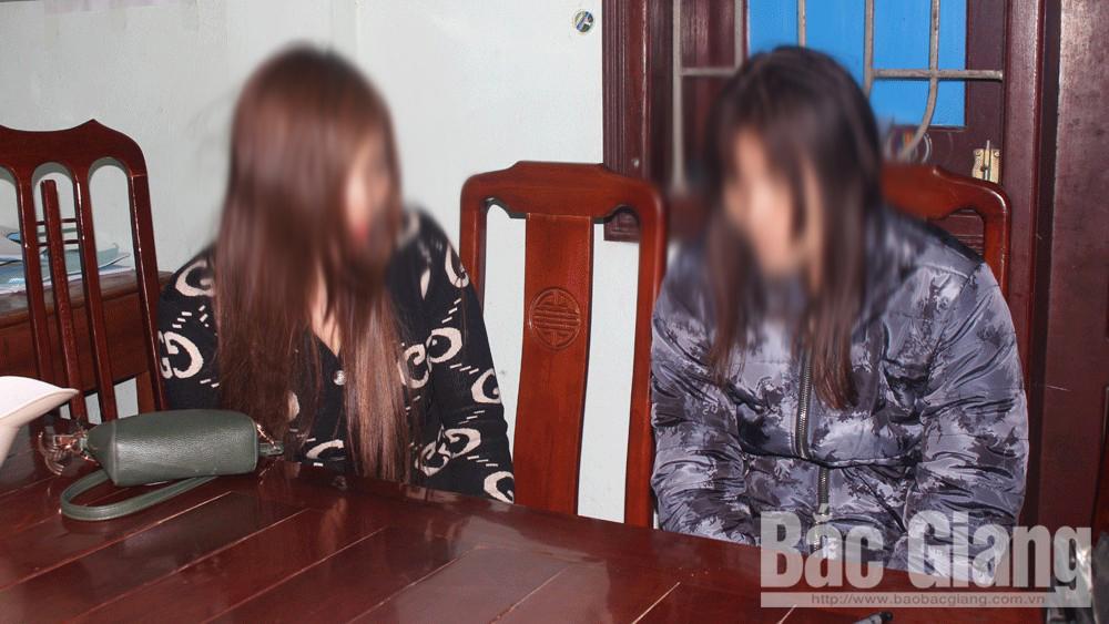 mua bán dâm; Công an huyện Tân Yên; cao điểm