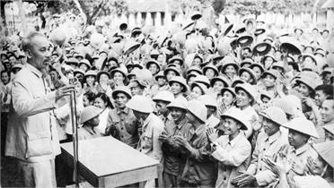 Chủ tịch Hồ Chí Minh - người sáng lập, rèn luyện Quân đội nhân dân Việt Nam