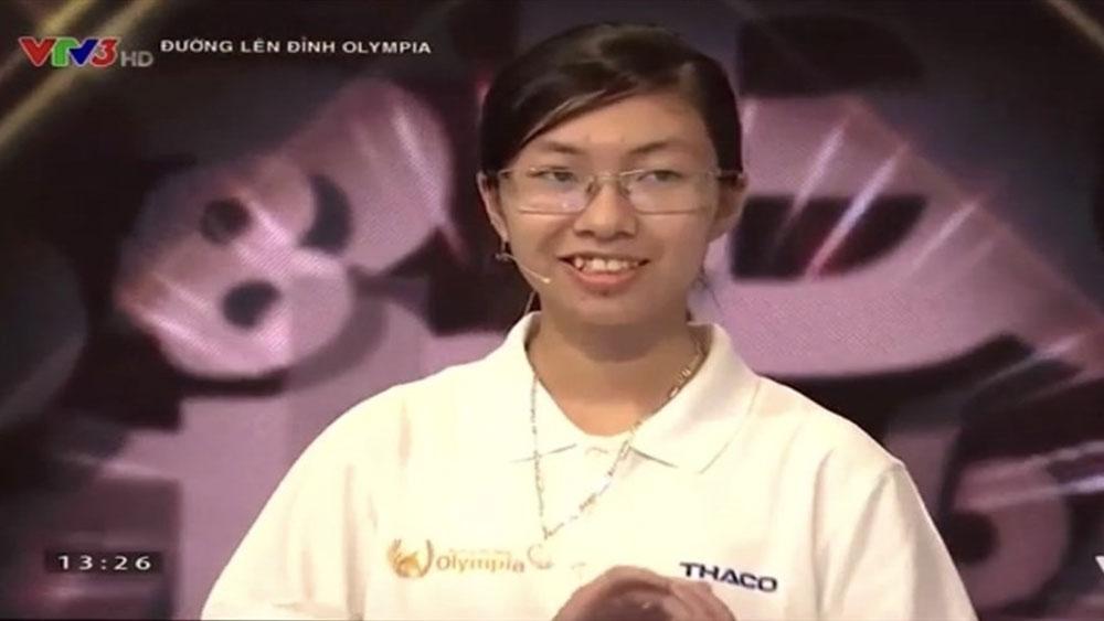 Nữ sinh đầu tiên, trận chung kết năm Olympia năm thứ 20, Nguyễn Thị Thu Hằng