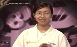 Nữ sinh đầu tiên lọt vào trận chung kết năm Olympia năm thứ 20