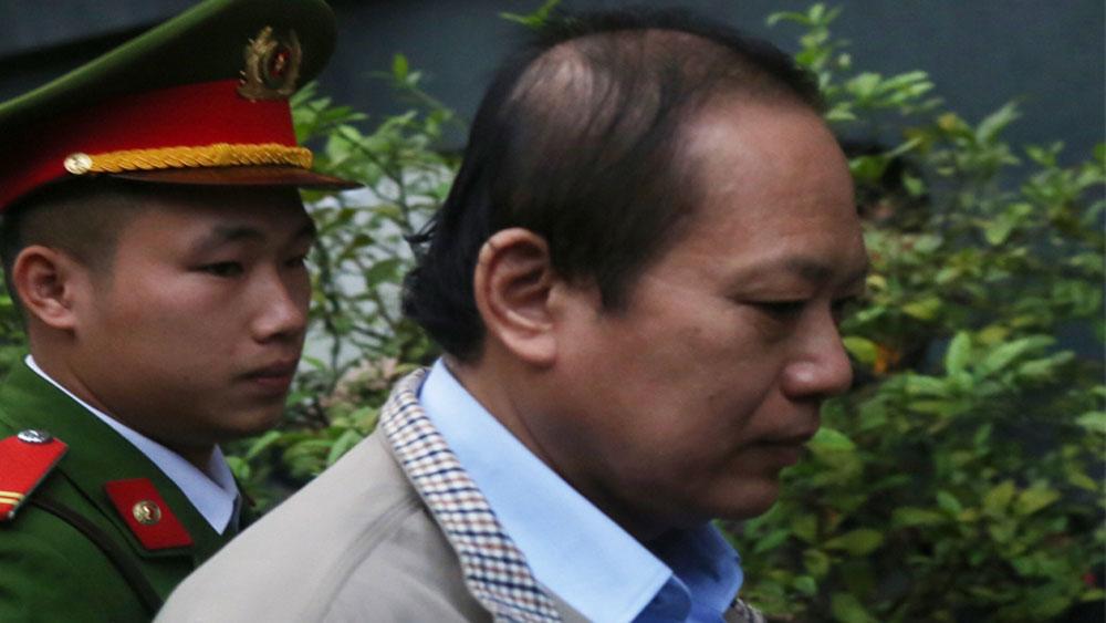 Hai cựu bộ trưởng Thông tin và Truyền thông, hầu toà, Nguyễn Bắc Son, Trương Minh Tuấn