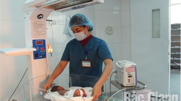 Khoa sơ sinh, Bệnh viện Sản - Nhi tỉnh Bắc Giang: Những bà mẹ thứ hai của trẻ