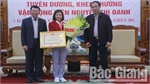 Bac Giang province honors athlete Nguyen Thi Oanh
